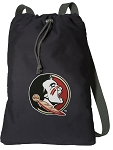 FSU Cotton Drawstring Bag Backpacks
