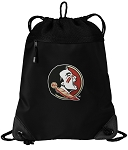 FSU Drawstring Backpack-MESH & MICROFIBER