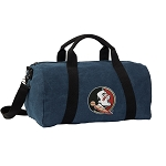 Florida State Duffel RICH COTTON Washed Finish Blue