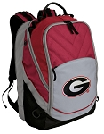 Georgia Bulldogs Deluxe Laptop Backpack Red