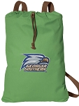 Georgia Southern Cotton Drawstring Bag Backpacks Cool Green