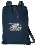 Georgia Southern CANVAS Drawstring Backpack Navy