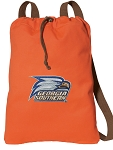 Georgia Southern Drawstring Backpack CANVAS!