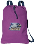 Georgia Southern CANVAS Drawstring Backpack