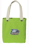 Georgia Southern Tote Bag RICH COTTON CANVAS Green