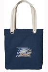 Georgia Southern Tote Bag RICH COTTON CANVAS Navy