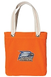 Georgia Southern NEON Orange Cotton Tote Bag