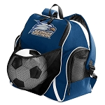 Georgia Southern Soccer Ball Backpack