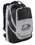 Georgia Southern Top Backpack Black Gray