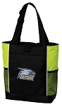 Georgia Southern Neon Green Tote Bag
