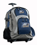 Georgia Southern Rolling Backpack Navy