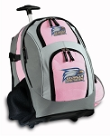 Georgia Southern Rolling Backpack Pink