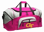 Ladies Georgia Tech Duffel Bag or Gym Bag for Women