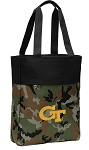 Georgia Tech Tote Bag Everyday Carryall Camo