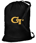 Georgia Tech Laundry Bag Black
