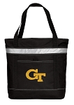 Georgia Tech Insulated Tote Bag Black