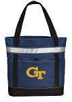 Georgia Tech Insulated Tote Bag Navy