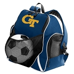 Georgia Tech Soccer Ball Backpack