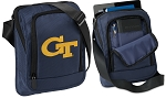 Georgia Tech Tablet or Ipad Shoulder Bag Navy