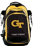 Georgia Tech Harrow Field Hockey Lacrosse Backpack Bag Yellow