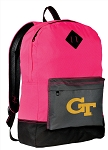 GT Yellow Jackets Backpack HI VISIBILITY Georgia Tech CLASSIC STYLE For Her Girls Women