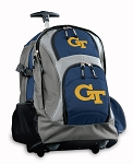 Georgia Tech Rolling Backpack Navy
