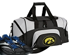 Small University of Iowa Gym Bag or Small Iowa Hawkeyes Duffel