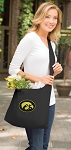 University of Iowa Tote Bag Sling Style Black