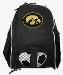 University of Iowa Soccer Backpack or Iowa Hawkeyes Volleyball Bag For Boys or Girls