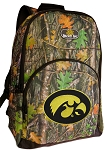 Iowa Hawkeyes Backpack REAL CAMO DESIGN