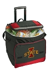 Iowa State Rolling Cooler Bag Red