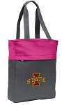 Iowa State Tote Bag Everyday Carryall Pink