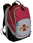 ISU Iowa State Deluxe Laptop Backpack Red