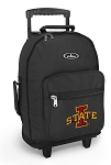 Iowa State Rolling Backpacks Black