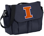 University of Illinois Illini Diaper Bag Navy