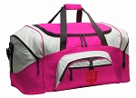 Ladies Indiana University Duffel Bag or Gym Bag for Women
