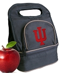 IU Indiana University Lunch Bag Black