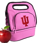 IU Indiana University Lunch Bag Pink