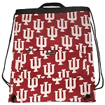 IU Indiana University Drawstring Backpacks