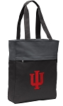 IU Indiana University Tote Bag Everyday Carryall Black