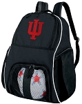 IU Indiana University Ball Backpack Bag