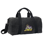 James Madison Duffel RICH COTTON Washed Finish Black