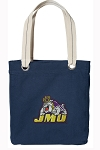 JMU Tote Bag RICH COTTON CANVAS Navy