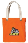 JMU Tote Bag RICH COTTON CANVAS Orange