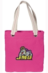 JMU Tote Bag RICH COTTON CANVAS Pink