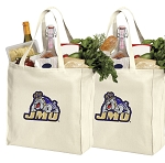 James Madison University Shopping Bags JMU Grocery Bags 2 PC SET