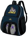 JMU SOCCER Backpack or VOLLEYBALL Bag