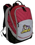 James Madison Deluxe Laptop Backpack Red