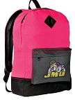 James Madison Backpack Classic Style HOT PINK