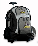 James Madison Rolling Backpack Black Gray